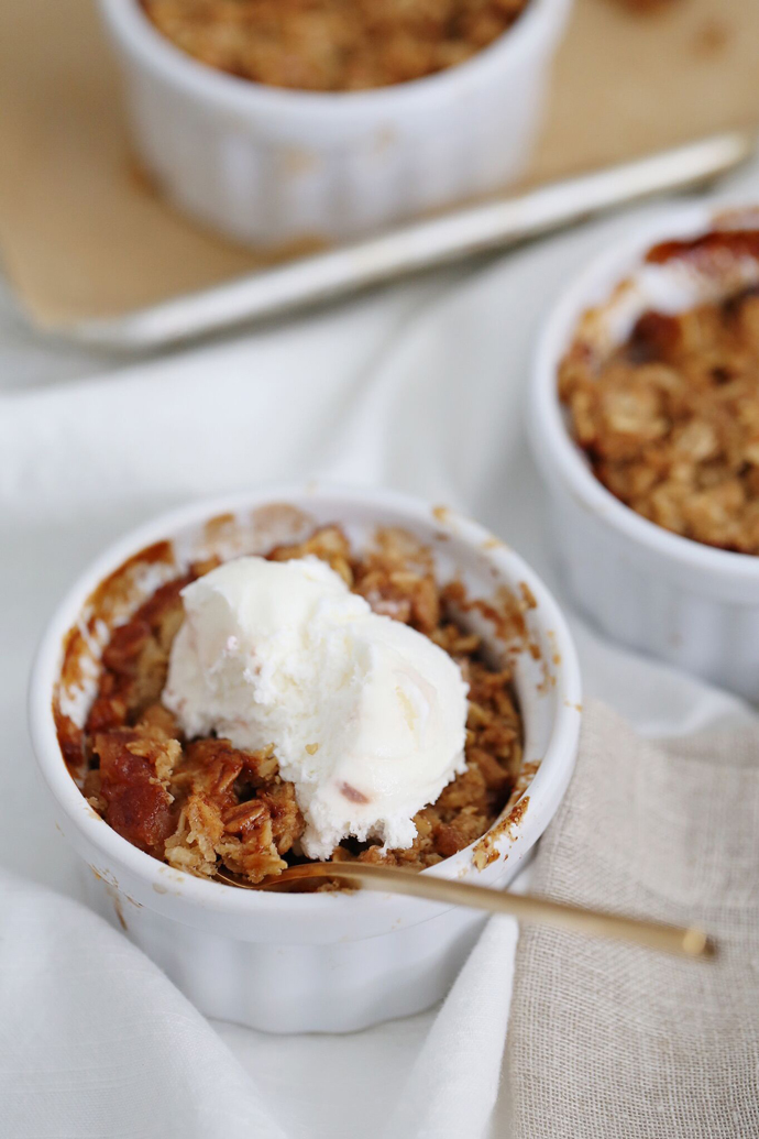 A Fall Time Apple Crumble Recipe To Try