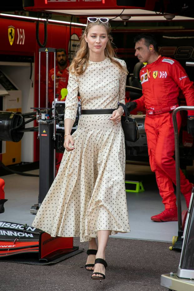 Beatrice Borromeo attends the F1 Grand Prix of Monaco on May 26, 2019 in Monte-Carlo, Monaco. (Photo by Marc Piasecki/WireImage)